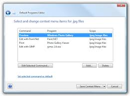 how do i associate htm u0027s edit option with notepad in windows 7