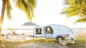 Retro Teardrop Camper Caravan For Hire In Buderim Qld