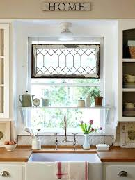 Kitchen Window Treatment Ideas Pictures Fantastic Kitchen Window Treatment Ideas And Best Farmhouse