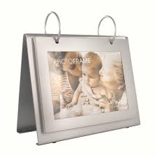 flip photo album personalized silver flip photo album picture frame on metal stand