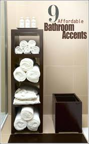 Storage For Towels In Bathroom Bathroom Storage Towels Dominy Info