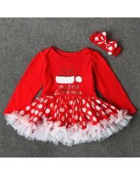savings on 1 set newborn baby girls letter princess tutu dress