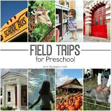 field trip ideas for preschool and kindergarten