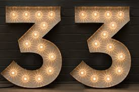 marquee numbers with lights toronto marquee letters numbers rentals png