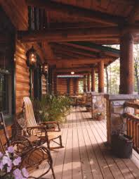 Wrap Around Deck by Exceptional Log Homes With Wrap Around Porch 3 073d 0055 Deck1 8