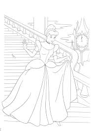 cinderella coloring pages free bestofcoloring