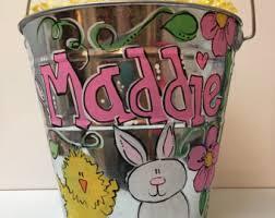 painted easter buckets easter basket easter egg basket alabama easter basket