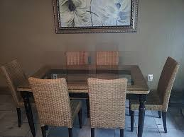 Dining Room Wicker Chairs Kitchen Tables Lovely Wicker Kitchen Table And Chairs High
