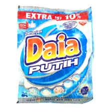 Sabun Daia deterjen daia putih 60g isi 6 sachet elevenia