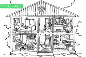 printable gingerbread house colouring page house color page free download gingerbread house coloring page for