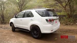 fortuner new 2015 toyota fortuner 4x4 automatic review motor trend india