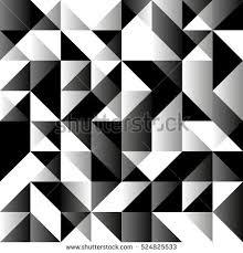 Monochromatic - monochromatic seamless background geometric shapes low stock