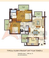 floor layout plans bptp freedom park life floor plan floorplan in
