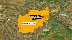 bagram air base map 4 killed 16 wounded in blast at bagram airfield in