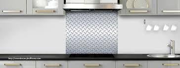 plaque aluminium cuisine plaque aluminium autocollante pour cuisine génial crédence de