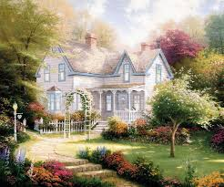prints for sale kinkade evening paintings for