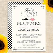 couples wedding shower invitation wording couples wedding shower invites we like design