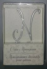 lillian cake topper plastic monogram wedding cake decorations ebay
