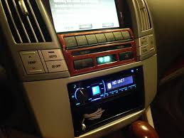 lexus rx400h dvd player aftermarket stereo in 2004 rx330 with nav clublexus lexus