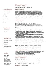 strong words for resumes mental health counselor resume counselling job description