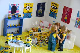 Dollhouse Bed For Girls by American Doll Despicable Me Minion Dollhouse Room Youtube