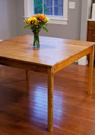 Red Oak Table by Square Red Oak Kitchen Table Virgin Timber Lumber