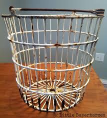egg baskets vintage egg basket turned into a light hometalk