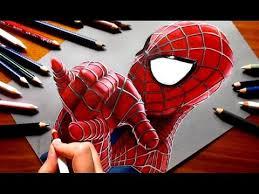 speed drawing the amazing spider man 2 jasmina susak youtube