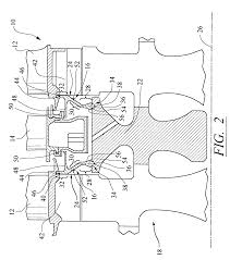 patent us7520718 seal and locking plate for turbine rotor