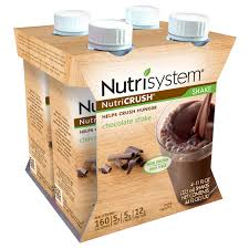 nutrisystem nutricrush chocolate shakes 11 fl oz 4 count