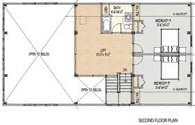 cottage floor plans with loft barn style house plans in harmony with our heritage