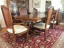 ebay ethan allen dining table ethan allen dining dining table and six chairs ethan allen dining