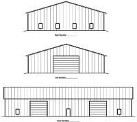 a frame building plans free post frame building plans for post frame pole buildings