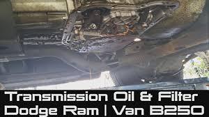 1988 dodge ram transmission how to change transmission fluid filter on dodge ram b250