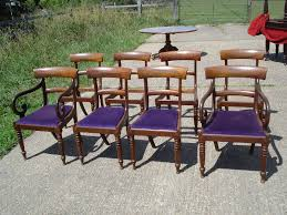 William Iv Dining Chairs Antique Furniture Warehouse Large Set Of Antique Dining Chairs