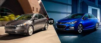 chevy sonic vs ford focus ford focus vs 2016 chevy cruze