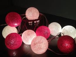 Where Can I Buy String Lights For My Bedroom My Lights Cotton String Lights 20 Pink Tone
