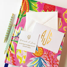 personalized notecards monogrammed stationery set foil sted monogrammed notecards