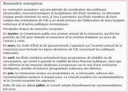 si e conseil europ n le semestre européen souffle sa première bougie et les eurodéputés