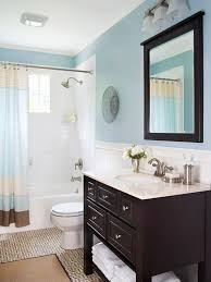 Light Blue Bathroom Paint Traditional Bathroom Decor Ideas Small Bathroom Mirror Set And
