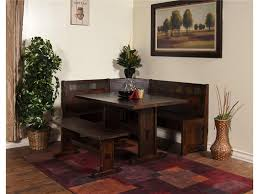 kitchen nook furniture set renew designs dining room santa fe breakfast nook set with