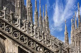detail of the buttresses flying buttresses and pinnacles of