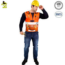 construction worker costume men construction worker costume 3d digital printing t shirt