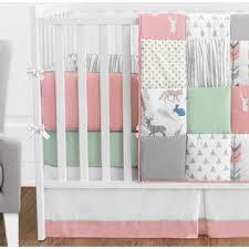 Jojo Crib Bedding Set Sweet Jojo Designs 9pc Crib Bedding Set For The Coral And Mint