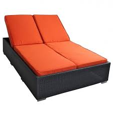 double chaise lounge cushions chaise design