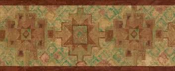 burnt southwestern design wallpaper border wallpaper u0026 border