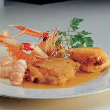 cuisiner les langoustines recette fricassée de volaille aux langoustines cuisine madame