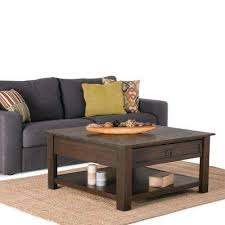 rustic coffee table accent tables living room furniture