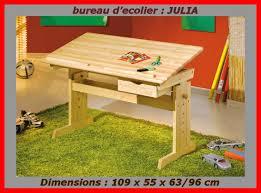 bureau d ecolier bureau d ecolier plateau inclinable réglable en hauteur meubles