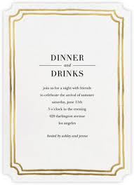 dinner invitation dinner party invitations online at paperless post